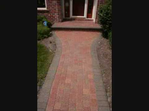 Brick Paver Cleaning and Sealing Before and After Pictures Hardscape Driveways & Patios