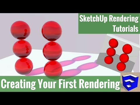 GET STARTED RENDERING IN SKETCHUP - Creating Your First Render with Twilight Render - Step by Step!