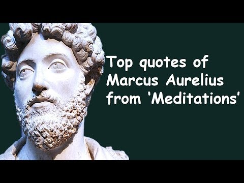 Top Quotes of Marcus Aurelius | Inspirational Wise Quotes From Meditations | Philosophy of Stoicism