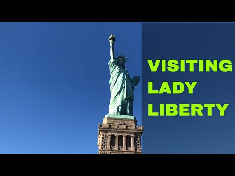 Visiting Lady Liberty || Ferry Ride + Statue of Liberty Tour
