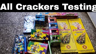 Some new & unique crackers | different types of crackers testing | testing crackers 2019