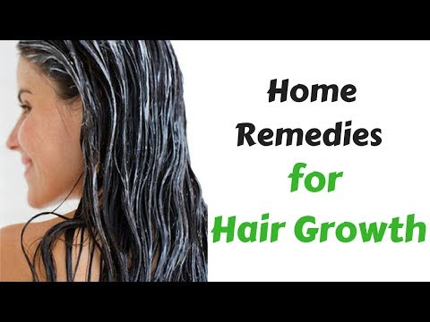 Grow Hair Faster Naturally Home Remedies | Home Remedies To Make Your Hair Grow Faster