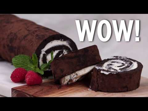 How to Make a Chocolate Yule Log | Cooking Light