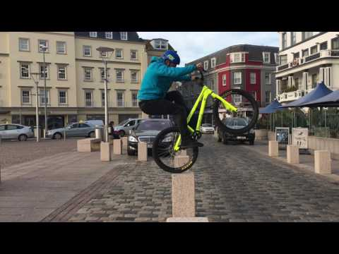 Street trials riding in jersey (inspired bikes)