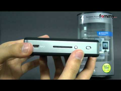Portable Power Bank 6000 Universal Back-Up Charger Review in HD