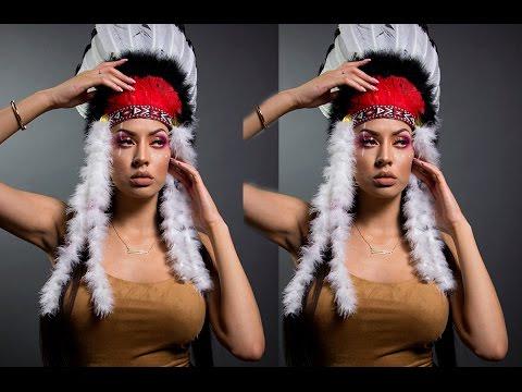Native American Inspired Makeup Tutorial & Last Minute Halloween Ideas!