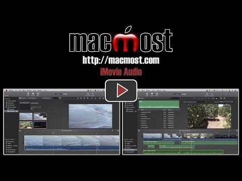 Editing Audio In iMovie (#981)