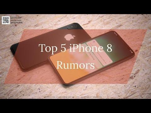 Top 5 iPhone 8 Rumors | Release date & Price | 100 % Sure!!!