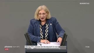 Einsatz der Bundeswehr im Irak: Bundestagsdebatte auf Antrag der AfD am 15.01.20
