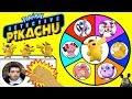 POKEMON DETECTIVE PIKACHU Spinning Wheel Slime Game W Surprise Movie Toys Cards amp Plush