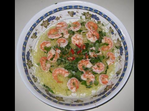 PAPAYA - How to Make Shrimp Papaya Salads at Home | JQ Food | Yessum
