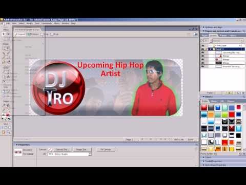 How To Make Banners in Adobe Fireworks