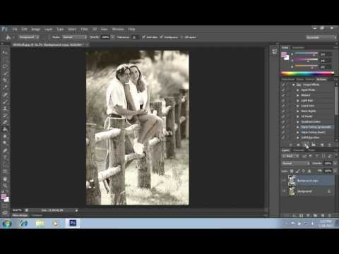 How to Use Actions in Photoshop CS6