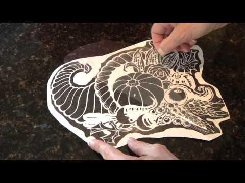 Pumpkin Carving Pattern - Fast Transfer Method