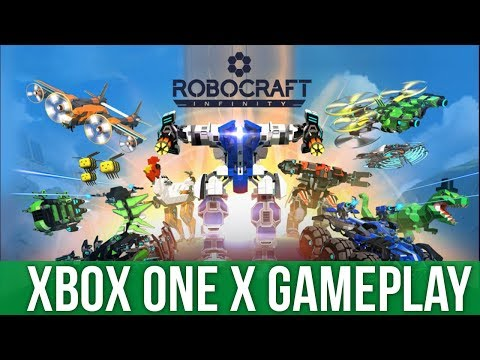 Robocraft Infinity - Xbox One X Gameplay (Gameplay / Preview)