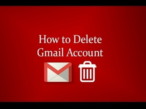 how to delete gmail account 2016 - 2017