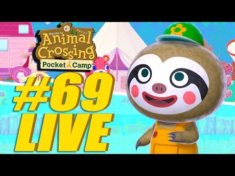 Leif Garden Event Part 2! Animal Crossing: Pocket Camp Live Stream