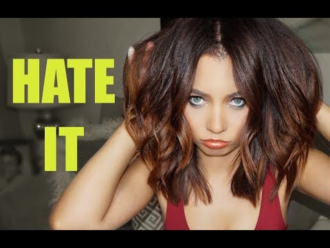I HATE MY NEW HAIR COLOR (NOT CLICKBAIT) | Brittney Gray