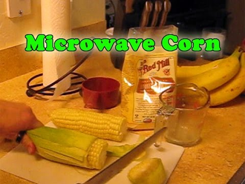 How To Microwave Corn On Cob In Husk Easiest Corn Shucking