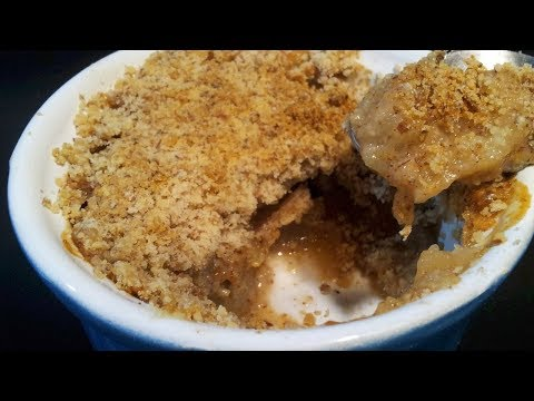 Pear and Apple Crumble no Butter