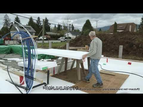 Passive house construction in Port Alberni BC Canada video #2 the way for the future