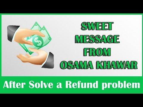 SWEET MESSAGE FROM OSAMA KHAWAR MAY ALLAH BLESS HIM !!!!!!