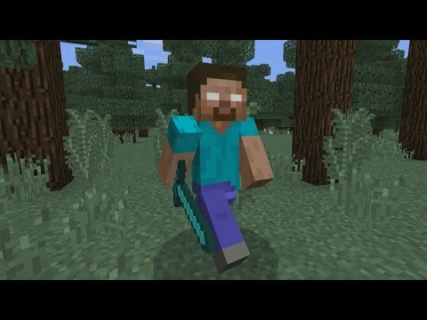 SPAWN HEROBRINE IN MINECRAFT POCKET EDITION!! (AddOn)