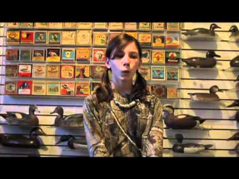 11-year-old girl shows off amazing duck calling skills