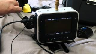 Black Magic Cinema Camera Audio Test