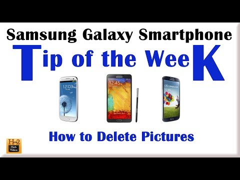 Tip of the Week (How to Delete Pictures) - Week 6​​​ | H2TechVideos​​​