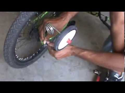 How to Install Training Wheels on a Child's Bike
