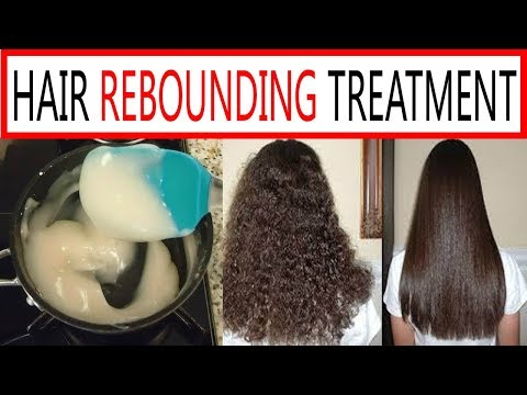 HAIR REBOUNDING TREATMENT WITH SIGLE HAIR MASK||SUMMER HAIR CARE