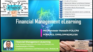 Business Ethics, Corporate Governance and Business Laws_Module-06