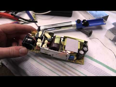 DrCassette's Workshop - Simple Laptop power supply repair