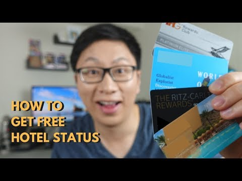How to Get Free Hotel Status via Credit Cards