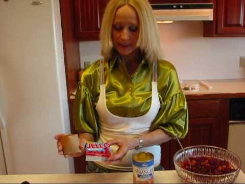 Betty's Festive Cranberry-Orange Relish Molded Salad