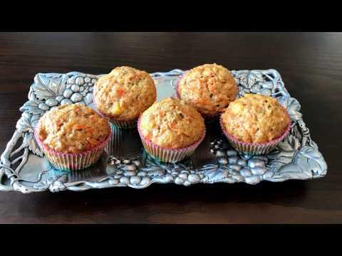 Carrot Cake Muffins – Lynn's Recipes