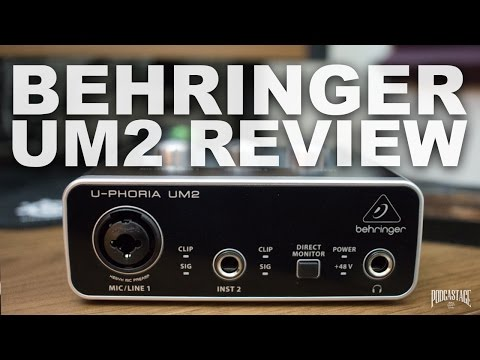 Behringer U-Phoria UM2 Review / Test