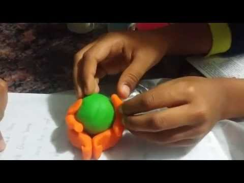 How to make Ganesh idol with Color Dough