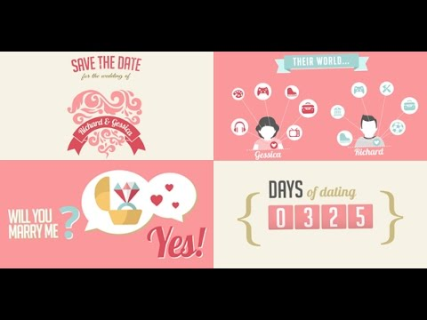 The Two Of Us Love Story Timeline & Save The Date | After Effects template