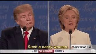 Trump Calls Clinton A Nasty Woman During Final Presidential Debate   What's Trending Now