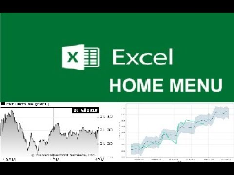Ms Excel home menu in hindi/urdu part 4