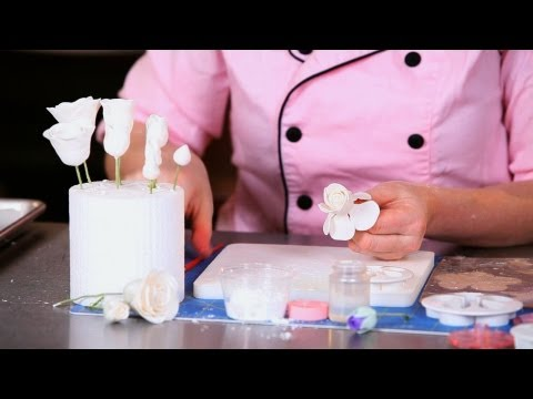 How to Add Petals to Rose Bud | Sugar Flowers
