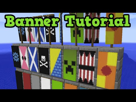 Minecraft Xbox One / PS4 - Banners Tutorial (TU43 Feature)