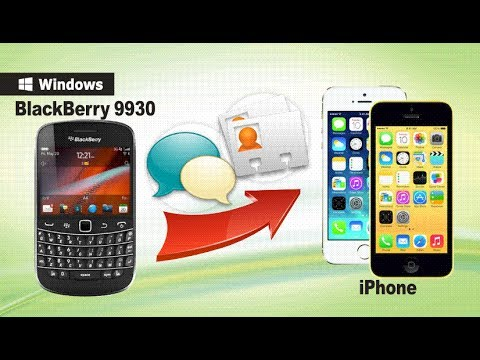 [BlackBerry to iPhone]: How to Transfer Data from BlackBerry 9930 to iPhone 6/5S/5C/5/4S/4?