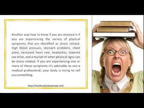 How To Know If You Are Stressed Reading The Signs