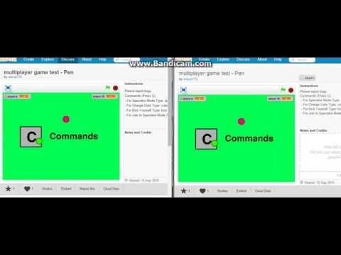 Multiplayer game in Scratch