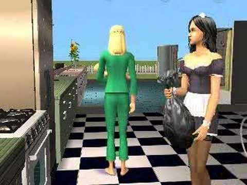 Sims 2: Pregnant Sim with newborn!
