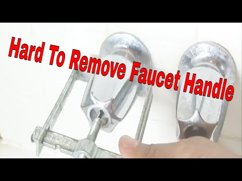 Grrrr Hard to remove faucet handle