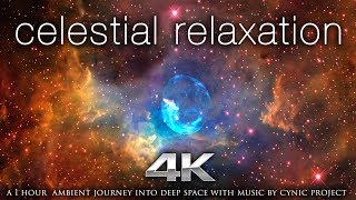 """1 HR NASA 4K """"Celestial Relaxation"""" + 432HZ Ambient Music by Nature Relaxation"""
